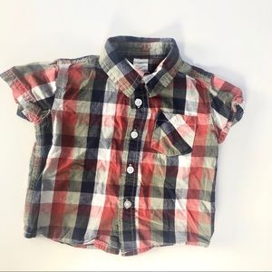 George button down t shirt like new